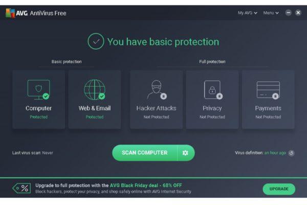 AVG Free Antivirus 2019