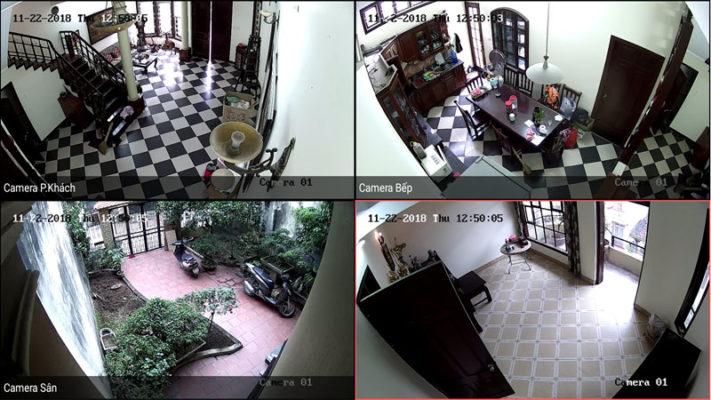 Lắp camera tại quận Thanh Khê