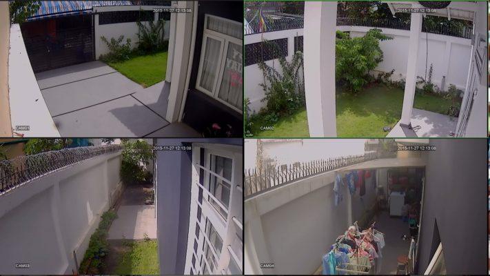 Lắp camera quan sát cho nhà ở tại hương an