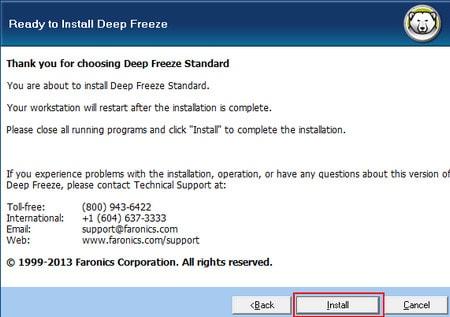Tải Deep Freeze Full Key bản quyền - phần mềm đóng băng ổ cứng