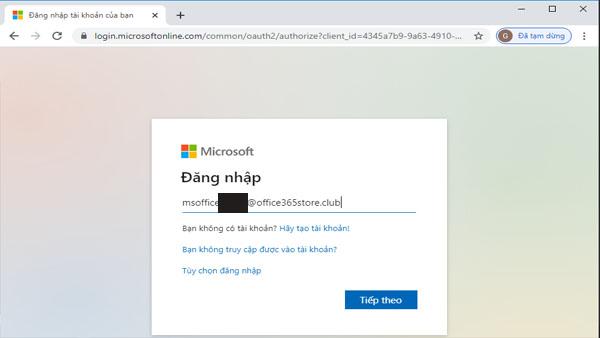Hướng dẫn cài đặt Office 365 trên PC