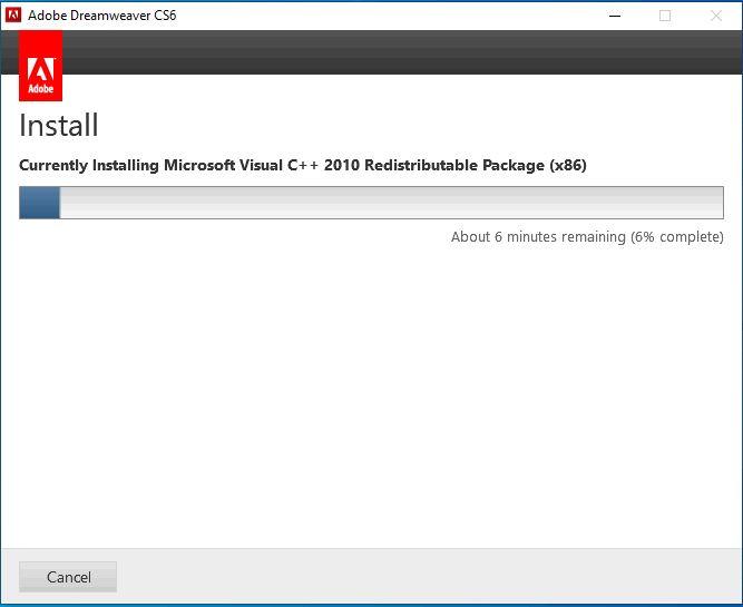 Hướng dẫn cài đặt Dreamweaver CS6