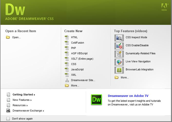 Tải Dreamweaver CS6 Full