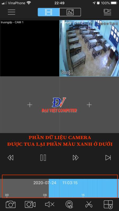 Hướng dẫn xem lại camera KB ONE trên phần mềm KBVIEW