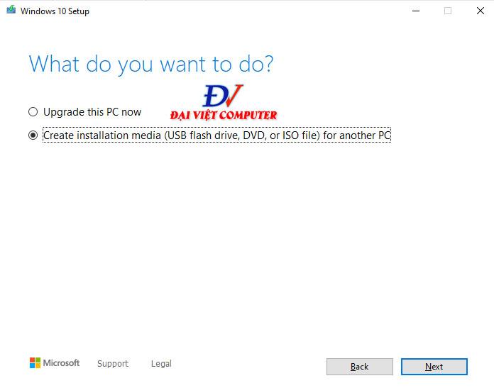 Cách tải win 10 2004 ISO nguyên gốc từ Microsoft