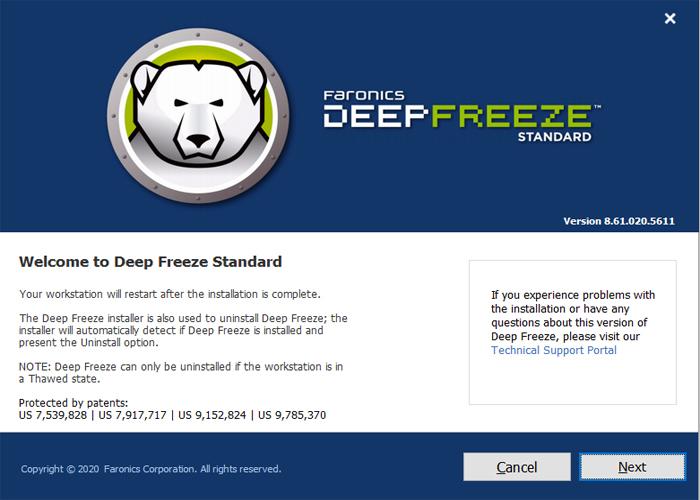 Cài đặt Deep Freezers