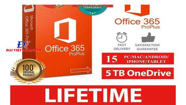 Tài khoản office 365 giá rẻ