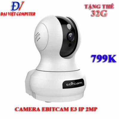Camera Wifi Ebitcam E3 2.0MP