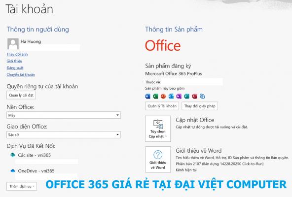 OFFICE 365 DÀNH CHO MACBOOK M1